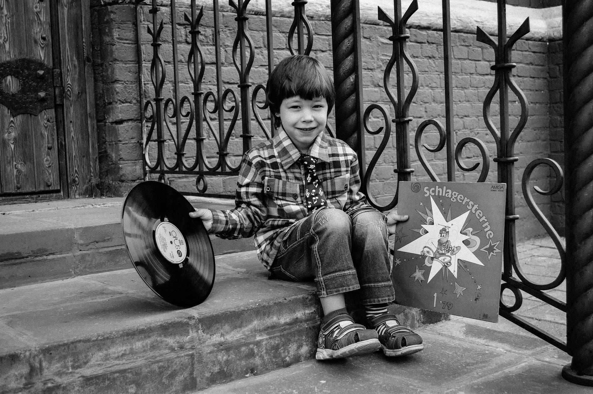 bambino nella musica