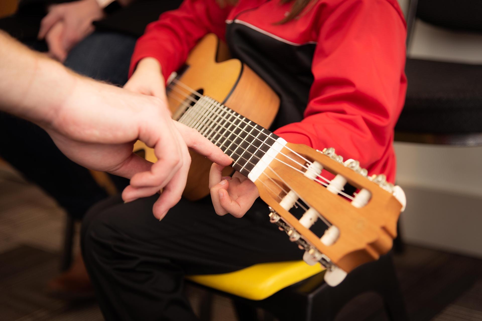 chitarra e il suo talento